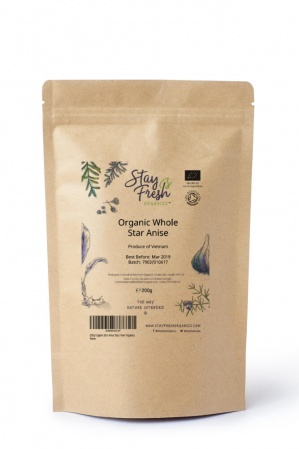200g Organic Whole Star Anise