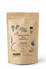 100g Organic Ground Black Peppercorns