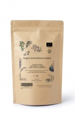 100g Organic Hibiscus Flowers (Dried)